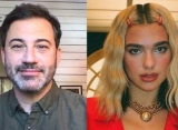 Jimmy Kimmel Defends Dua Lipa Against Sexist Troll Following 'Late Night' Guest-Hosting Gig