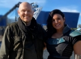 Gina Carano Defended by 'Mandalorian' Co-Star Bill Burr in Expletive-Laden Comment