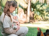 Terri Irwin Introduces Granddaughter to Chickens During 'Most Wonderful Moment'