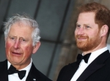 Prince Harry Arrives in Montecito, Doesn't Have One-on-One Chat With Prince Charles