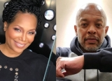 Michel'le Denies Catching Dr. Dre in Bed With a Man