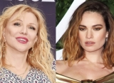 Courtney Love Shames Lily James for Starring in Hulu's 'Pam and Tommy'