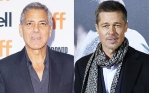 George Clooney Hopes Brad Pitt 'Gets Serious' With Neri Oxman