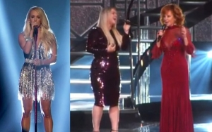 ACM Awards 2018: Carrie Underwood Returns to Stage, Kelly Clarkson and Reba McEntire Join Forces