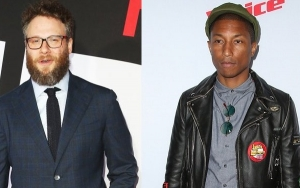 Seth Rogen Frustrated Pharrell Williams During Singing Lessons for 'Lion King' Remake