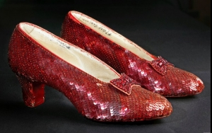 Judy Garland's 'The Wizard Of Oz' Shoes On Sale