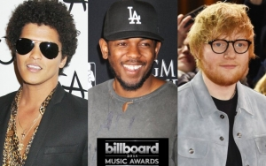 Billboard Music Awards 2018: Bruno Mars, Kendrick Lamar and Ed Sheeran Lead Nominations