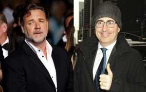 Russell Crowe to Donate John Oliver Money From Auction to Charity