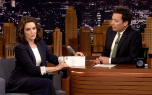 Jimmy Fallon Gets Choked Up as He Pays Tribute to Tina Fey