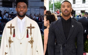 'Black Panther' Stars Chadwick Boseman and Michael B. Jordan Dazzle at 2018 Met Gala