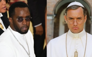 P. Diddy Channels Jude Law's Pope on 'the Young Pope' at Met Gala