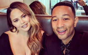 Chrissy Teigen Flaunts Major Cleavage During First Post-Baby Date With John Legend