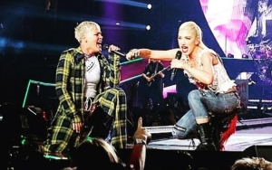 Gwen Stefani Plays Surprise Performance at Pink's Los Angeles Show
