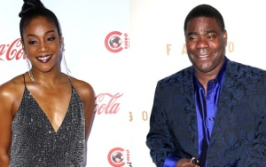 Tiffany Haddish Laughs Off Tracy Morgan's Interview Diss