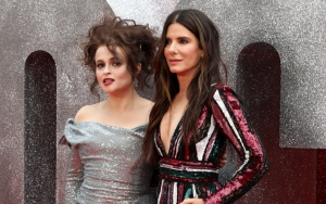 Sandra Bullock and Helena Apparently Hate Attending Red Carpets at Premiere