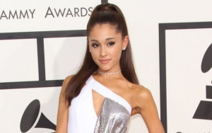 Ariana Grande Flaunts Engagement Ring at Songwriters Hall of Fame Gala