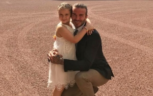 David Beckham Got a Sweet Letter From Daughter Harper on Father's Day
