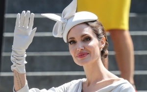 Angelina Jolie Copies Meghan Markle's Style at Royal Service