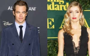 Chris Pine and Annabelle Wallis Loved Up in London