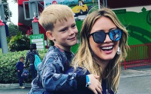 Hilary Duff Sports Black Eye After Accidental Run-In With Son Luca