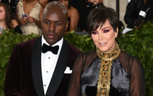 Kris Jenner Responds to Corey Gamble Engagement Rumors After Spotted Rocking Diamond Ring