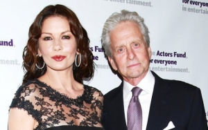 Catherine Zeta-Jones Shares Throwback Photo of Her First Meeting With Michael Douglas