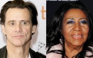Jim Carrey's Tribute to Aretha Franklin Draws Backlash for Making Her Look 'White'