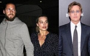 Margot Robbie's Husband Reportedly Jealous of Brad Pitt Following Rumors He's Smitten With Her
