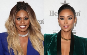 Photos: Laverne Cox and Shay Mitchell Suit Up at Variety and Women in Film's Emmy Bash