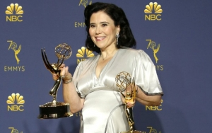 Alex Borstein Tries to Give Old Wedding Gown New Life With Emmys Red Carpet
