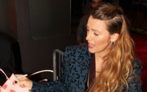 Persistent Blake Lively Wears Another Suit After Hitting Back at 'Double Standard' Comment