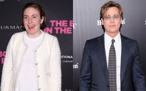 Lena Dunham Flashes Her Tiny Panties to Brad Pitt on 'Once Upon a Time in Hollywood' Set