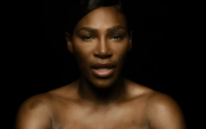 Naked Serena Williams Touches Herself in Breast Cancer Awareness PSA