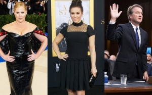 Amy Schumer Outraged, Alyssa Milano Terrified by Brett Kavanaugh's Appointment