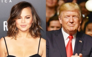 Chrissy Teigen Sweating Bullets Due to Blocked Donald Trump Tweets