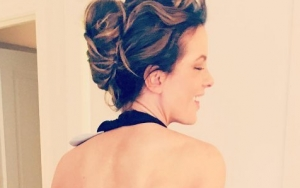 Picture: Kate Beckinsale Cheekily Flashes Butt in Daring Backless Ensemble
