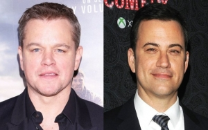 Matt Damon and Jimmy Kimmel Troll Each Other at World Series With Custom T-Shirt
