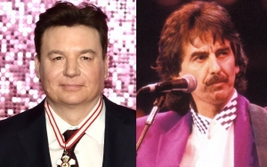 Mike Myers Mistook George Harrison's Last Letter as Death Threat