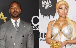 Michael B. Jordan Can't Stop Thinking of Stripping Nicki Minaj After Her 'Sexy' Plea at PCAs