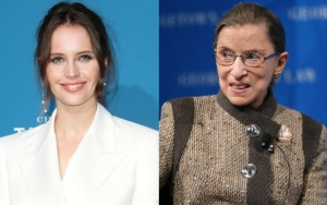 Felicity Jones Finds It Challenging to Capture Ruth Bader Ginsburg's Humor for Biopic