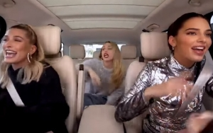 Watch Miley Cyrus Join Kendall Jenner and Hailey Baldwin's Girls Day Out on 'Carpool Karaoke'