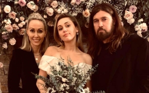'Happy' Parents Tish and Billy Ray Cyrus Pose With Gorgeous Newlywed Miley