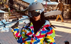 Watch: Camila Cabello Sings 'I Believe I Can Fly' While Learning to Ski