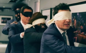 Video: Lindsay Lohan Causes Jimmy Fallon to Lose His Sanity in 'Bird Box' Parody