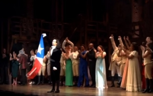 Lin-Manuel Miranda Overwhelmed With Kudos for Father on 'Hamilton' Return
