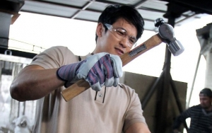 Pics: Harry Shum Jr. Turns Into Craftsman Before 2019 SAG Awards