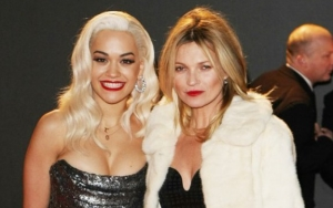 Rita Ora Celebrates Kate Moss' 45th Birthday With Their Naked in Bed Post