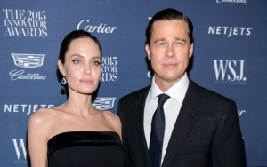 Brad Pitt and Angelina Jolie Look Tense in First Photos Together Since Split