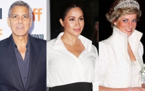 George Clooney Frustrated at Similar 'Vilification' of Meghan Markle and Princess Diana