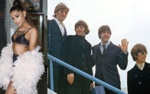 Ariana Grande Thought Feat in Matching The Beatles' Chart Record Was Edited by Fans